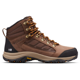 Columbia 100MW Mid-Cut Schuhe Outdry Herren tobacco/canyon gold